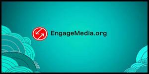 Engagemedia logo with border