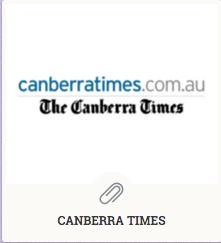 Canberra Times portfolio